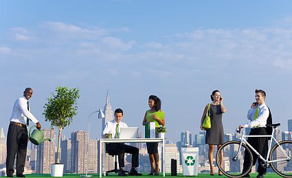 Green Business Image