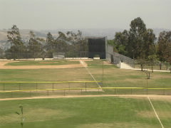 Baseball fields at Bishop park