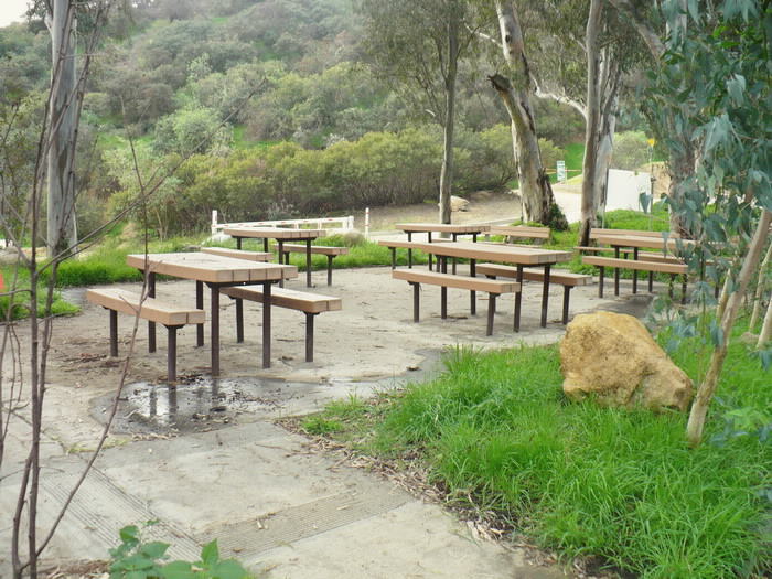 Rest and picnic area