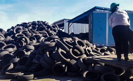 tire recycling Image