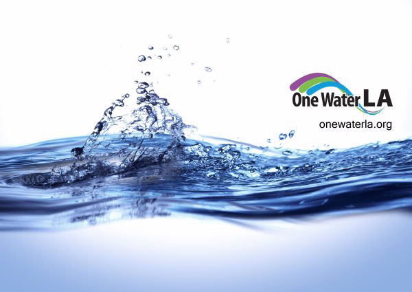 One Water LA Logo